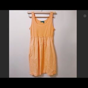 🧡Fresh Produce Orange sherbert sun dress sz Med